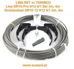 Lina do wciągnika DR10 (fi 13mm) dł.29,3m (70599833)